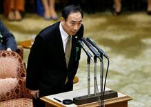 En la imagen, Yasunori Kagoike declara ante el Parlamento, en Tokio, Japón. 23 de marzo de 2017.El jefe de una escuela nacionalista japonesa actualmente en el centro de un escándalo político dijo en una declaración jurada ante el Parlamento el jueves que recibió una donación de 1 millón de yenes (9.000 dólares) de la mujer del primer ministro, Shinzo Abe, en nombre de su marido. REUTERS/Issei Kato
