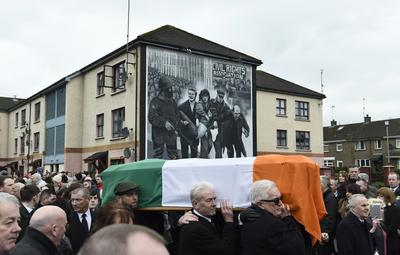 Northern Ireland buries Martin McGuinness