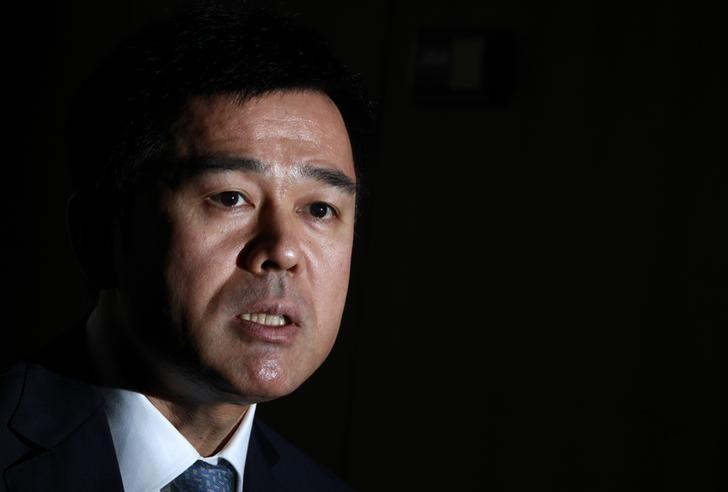 File photo: Takehiro Sato speaks during an interview with Reuters at the central bank in Tokyo September 26, 2012. REUTERS/Yuriko Nakao