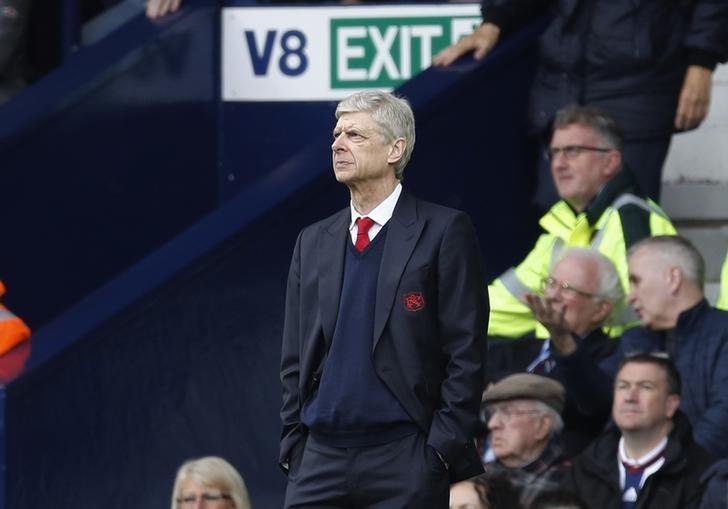 Britain Football Soccer - West Bromwich Albion v Arsenal - Premier League - The Hawthorns - 18/3/17 Arsenal manager Arsene Wenger  Reuters / Darren Staples Livepic