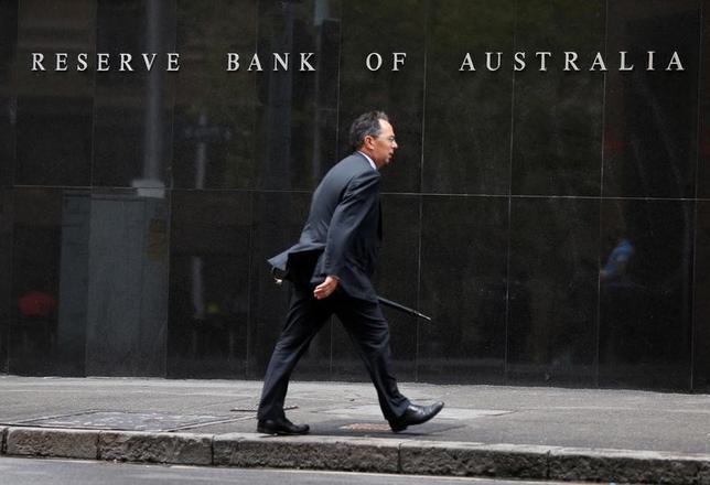 3月31日、ロイター調査によると、オーストラリア準備銀行(中央銀行)は来週4月4日の理事会で、政策金利のオフィシャルキャッシュレートを過去最低の1.50%に据え置くことが確実視されている。写真はシドニーにあるオーストラリア準備銀行のビル。2014年2月撮影(2017年 ロイター/Jason Reed)