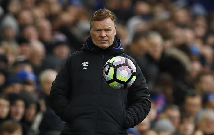 Britain Football Soccer - Everton v Hull City - Premier League - Goodison Park - 18/3/17 Everton manager Ronald Koeman Action Images via Reuters / Jason Cairnduff Livepic/Files