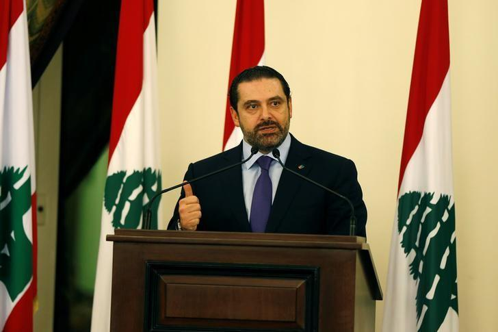 Lebanese Prime Minister Saad al-Hariri talks during a conference in Beirut, Lebanon January 19, 2017. REUTERS/Mohamed Azakir/Files
