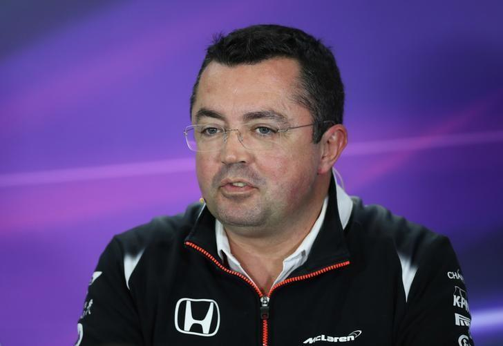 Britain Formula One - F1 - British Grand Prix 2016 - Silverstone, England - 8/7/16Eric Boullier - McLaren Racing DirectorREUTERS/Matthew Childs/File Photo