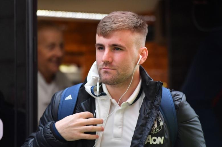 FILE PHOTO: Britain Soccer Football - Middlesbrough v Manchester United - Premier League - The Riverside Stadium - 19/3/17 Manchester United's Luke Shaw arrives before the match  Reuters / Anthony Devlin Livepic