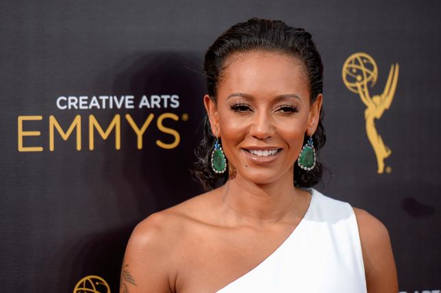 FILE PHOTO: British actress and singer Melanie Brown also known as Mel B arrives at the Creative Arts Emmys in Los Angeles, California, U.S. September 10, 2016. REUTERS/Gus Ruelas/File Photo