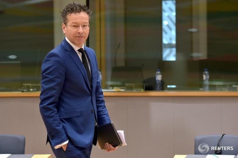 Dutch Finance Minister and Eurogroup President Jeroen Dijsselbloem attends a European Union finance ministers meeting in Brussels, Belgium March 21, 2017. REUTERS/Eric Vidal