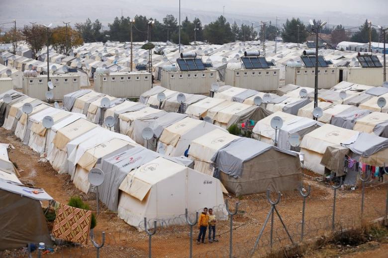 A general view of Nizip refugee camp, near the Turkish-Syrian border in Gaziantep province, Turkey, November 30, 2016. REUTERS/Umit Bektas/Files