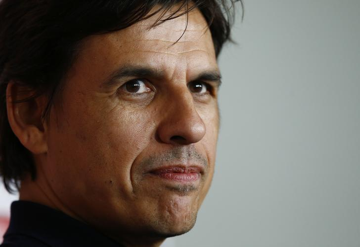 Britain Football Soccer - Wales - Chris Coleman Press Conference - The Vale Resort, Hensol, Wales - 16/3/17 Wales manager Chris Coleman during the press conference Action Images via Reuters / Peter Cziborra/ Livepic/ Files