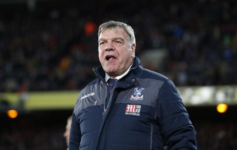 Britain Football Soccer - Crystal Palace v Arsenal - Premier League - Selhurst Park - 10/4/17 Crystal Palace manager Sam Allardyce before the match  Action Images via Reuters / Matthew Childs Livepic