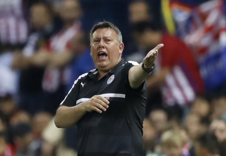 Football Soccer - Atletico Madrid v Leicester City - UEFA Champions League Quarter Final First Leg - Vicente Calderon Stadium, Madrid, Spain - 12/4/17 Leicester City manager Craig Shakespeare Action Images via Reuters / Carl Recine Livepic