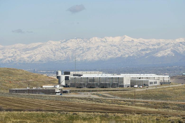 The National Security Agency (NSA) data center is seen after construction was completed in Bluffdale, Utah, U.S., March 24, 2017.  REUTERS/George Frey