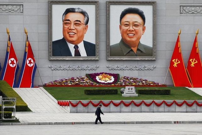 4月17日、ブルームバーグは、北朝鮮が今月、外相を含む中国の上級外交官による会談の要請に返答しなかったと報じた。写真はピョンヤンで16日撮影(2017年 ロイター/Damir Sagolj)