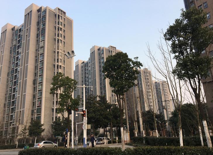 2017年2月19日,中国安徽,合肥的住宅区。REUTERS/Yawen Chen