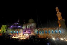 افتتاح المهرجان الدولي للطبول والفنون التراثية في قلعة صلاح الدين 2016. تصوير: محمد عبد الغني - رويترز