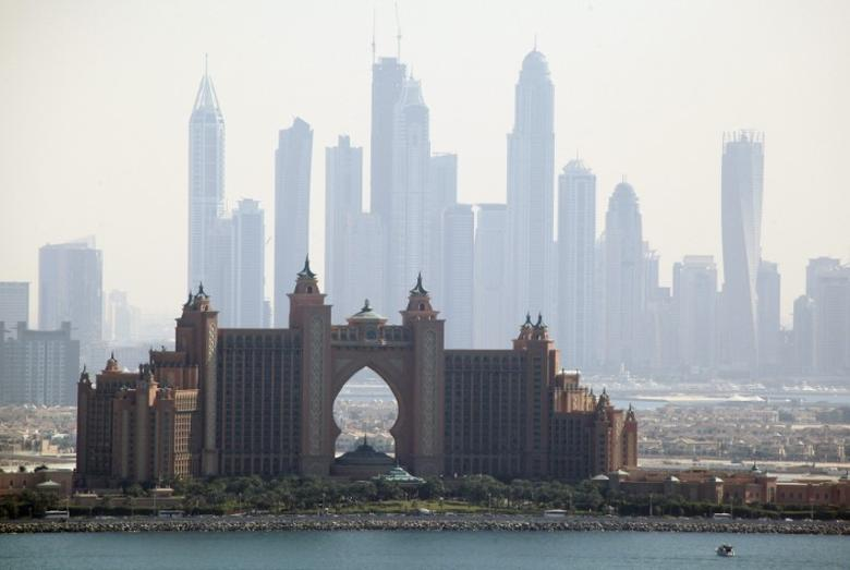 A general view of Atlantis resort is seen in Dubai January 19, 2013. REUTERS/Mohammed Omar