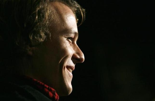 File photo - Actor Heath Ledger arrives at the premiere of the film ''Candy'' in New York November 6, 2006. REUTERS/Eric Thayer (UNITED STATES)