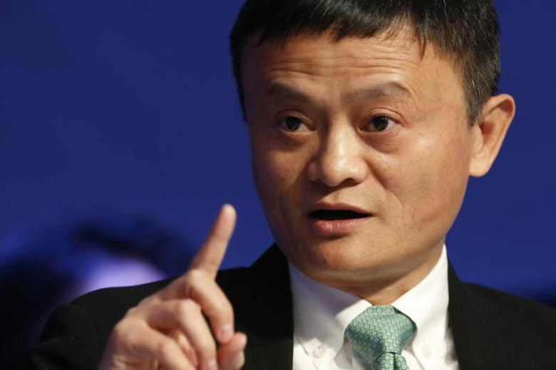 ALIBABA-UNAlibaba executive chairman Jack Ma, attends the annual meeting of the World Economic Forum (WEF) in Davos, Switzerland, January 18, 2017. REUTERS/Ruben Sprich