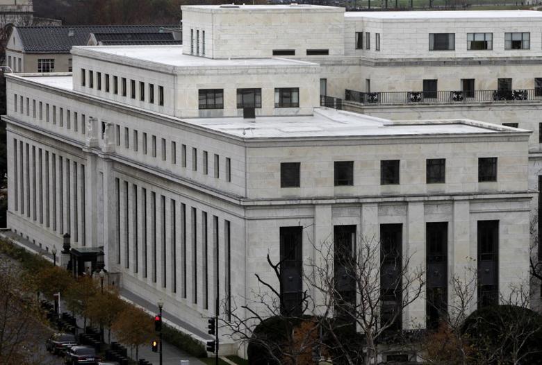 资料图片:2009年11月,美联储总部大楼。REUTERS/Yuri Gripas