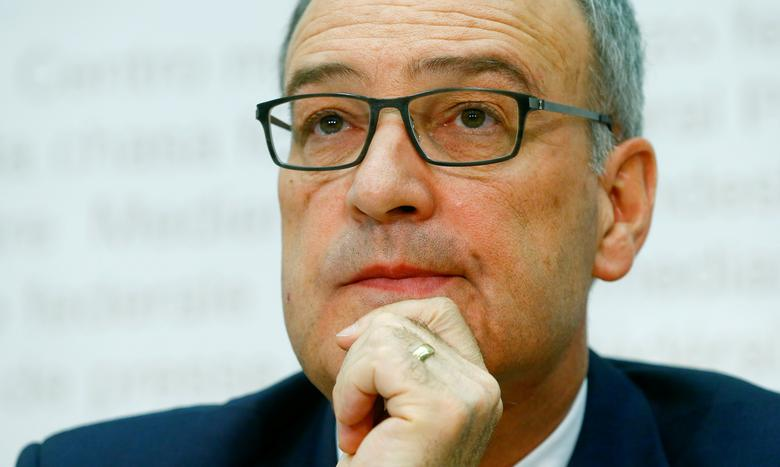 Switzerland's Defence Minister Guy Parmelin attends a news conference in Bern, Switzerland May 2, 2017. REUTERS/Arnd Wiegmann