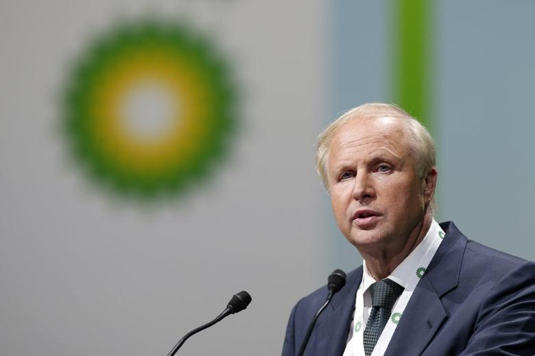 Bob Dudley, Group Chief Executive of BP, speaks during the 26th World Gas Conference in Paris, France, June 2, 2015.  REUTERS/Benoit Tessier