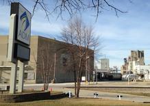 La sede de la compañía global de cereales Archer Daniels Midland, en Decatur, Illinois, Estados Unidos. 16 de marzo 2015. El operador agrícola estadounidense Archer Daniels Midland Co reportó el martes un alza de 47 por ciento en sus ganancias trimestrales, ayudado por mayores volúmenes de procesamiento de oleaginosas, ya que las débiles ventas de Brasil beneficiaron a las compañías del país norteamericano.  REUTERS/Karl Plume