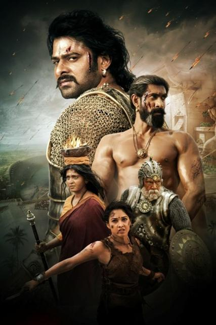"""Handout photo from the film ''Baahubali 2 – The Conclusion""""."""