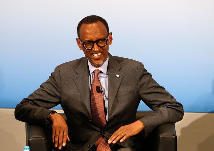 FILE PHOTO: Rwanda's President Paul Kagame attends the 53rd Munich Security Conference in Munich, Germany, February 18, 2017.    REUTERS/Michaela Rehle