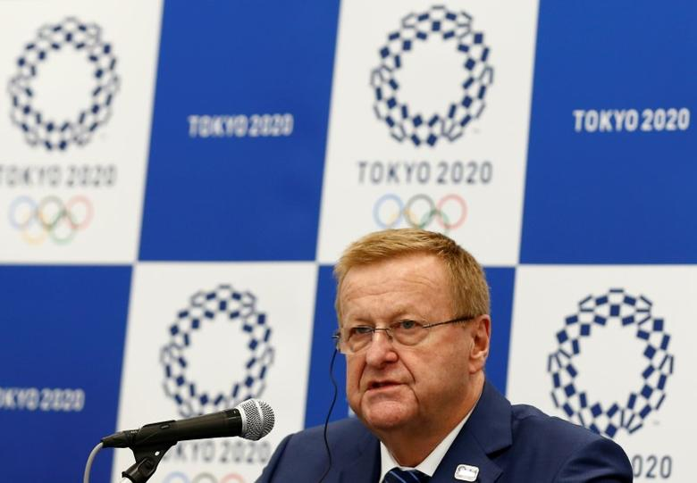 International Olympic Committee (IOC) Chairman of the Coordination Commission for the Tokyo 2020 Games John Coates speaks during a news conference in Tokyo, Japan, May 26, 2016. REUTERS/Thomas Peter  Picture Supplied by Action Images