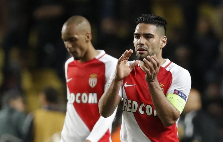 Football Soccer - AS Monaco v Juventus - UEFA Champions League Semi Final First Leg  - Stade Louis II, Monaco - 3/5/17 Monaco's Radamel Falcao looks dejected after the match  Reuters / Eric Gaillard Livepic