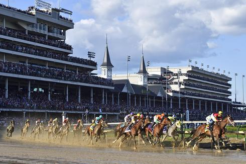 Always Dreaming wins Kentucky Derby
