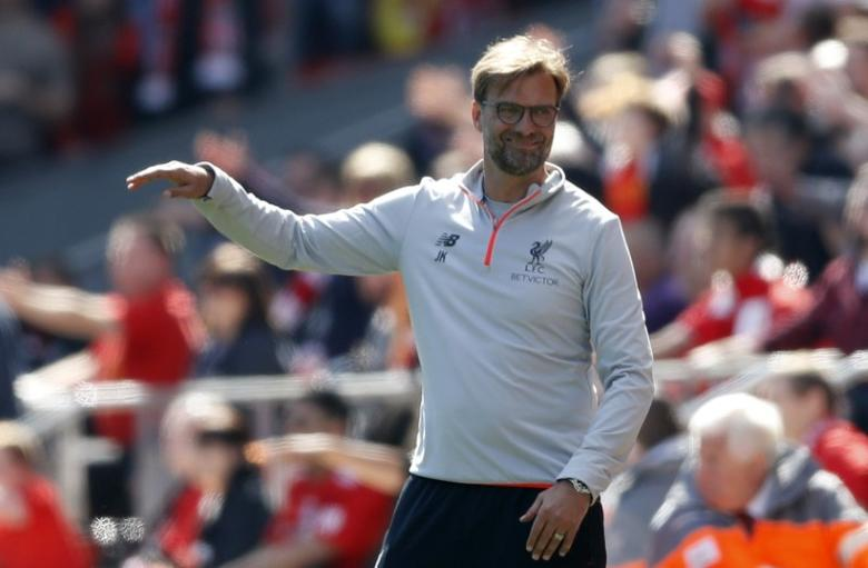 Liverpool manager Juergen Klopp  Action Images via Reuters / Carl Recine