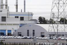 La planta de fabricación de automóviles de Volkswagen (VW) se ve en Puebla, cerca de Ciudad de México, México. 21 septiembre 2015. La producción de vehículos de México subió un 3.2 por ciento en abril a tasa interanual, mientras que las exportaciones crecieron un 16.1 por ciento, informó el lunes la Asociación Mexicana de la Industria Automotriz (AMIA). REUTERS/Imelda Medina - RTX1RS9O