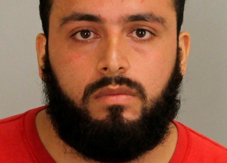 Ahmad Rahimi, 28, is shown in Union County, New Jersey, U.S. Prosecutor's Office photo released on September 19, 2016.  Courtesy Union County Prosecutor's Office/Handout via REUTERS/Files