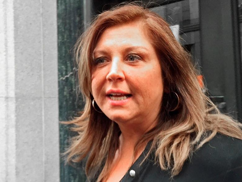 FILE PHOTO: Reality TV show star Abby Lee Miller leaves at the federal courthouse in Pittsburgh, Pennsylvania, U.S., on November 2, 2015.  REUTERS/Elizabeth Daley/File Photo