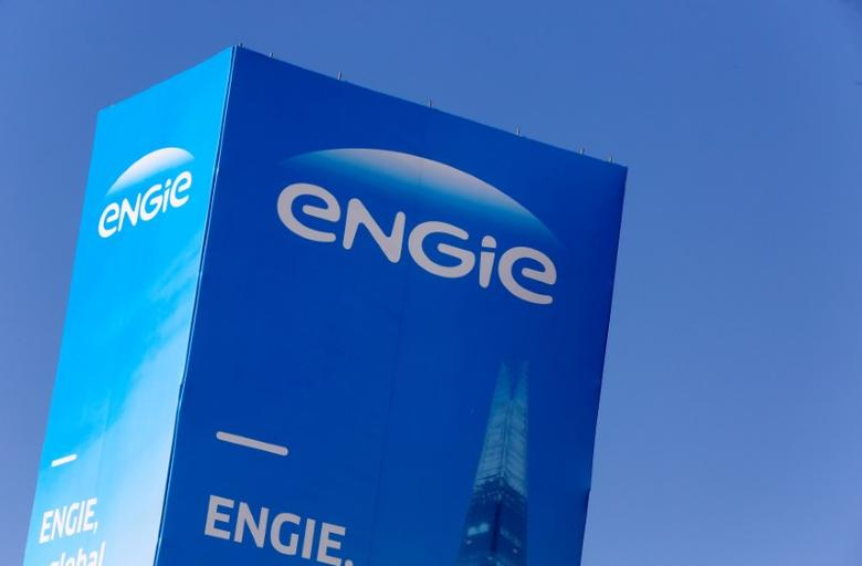 FILE PHOTO: The logo of French gas and power group Engie is seen at the CRIGEN, the Engie Group research and operational expertise center, in Saint-Denis near Paris, France,  Saint-Denis, France, February 29, 2016. REUTERS/Jacky Naegelen/File Photo