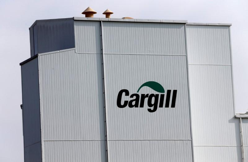 A Cargill Logo Is Pictured On The Provimi Kliba And Protector Animal Nutrition Factory In Lucens Switzerland September 22 2016 Reuters Denis Balibouse