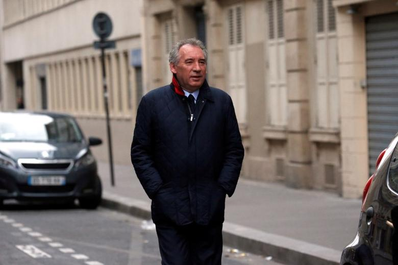 French center right party MoDem president Francois Bayrou walks in a street near the home of French President-elect Emmanuel Macron in Paris, France, May 8, 2017. REUTERS/Gonzalo Fuentes