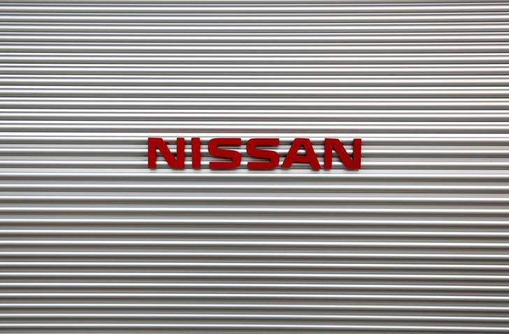 The logo of Nissan Motor Co is pictured at a showroom at the carmaker's headquarters in Yokohama, Japan May 11, 2017. REUTERS/Toru Hanai/Files