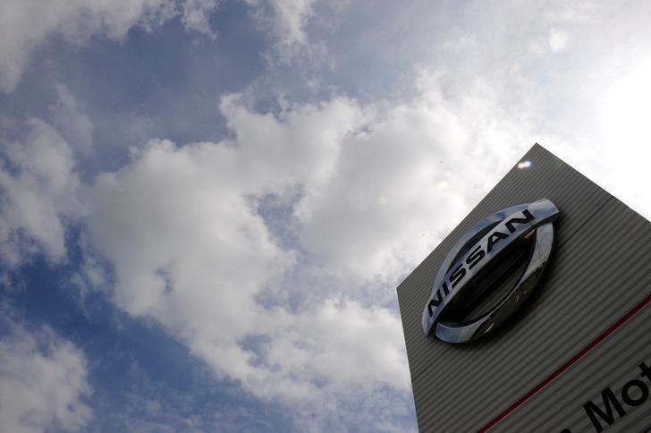 Signage at the Nissan car plant in Sunderland, Britain, June 24, 2010. REUTERS/Nigel Roddis/File Photo