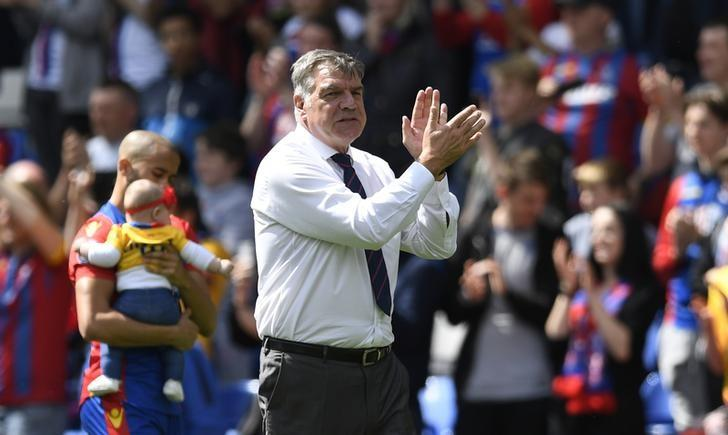 Britain Soccer Football - Crystal Palace v Hull City - Premier League - Selhurst Park - 14/5/17 Crystal Palace manager Sam Allardyce after the match  Action Images via Reuters / Tony O'Brien Livepic