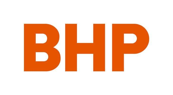 Australian mining company BHP's new corporate logo, released to Reuters from their Melbourne, Australia, headquarters May 15, 2017. BHP/Handout via REUTERS/File Photo