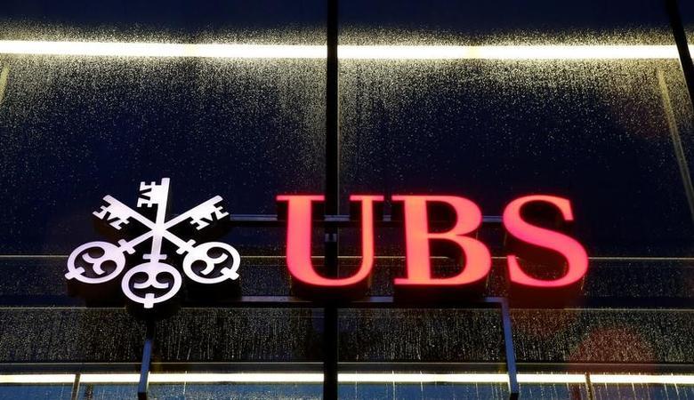 the logo of Swiss bank UBS is seen in Zurich, Switzerland November 10, 2016.    REUTERS/Arnd Wiegmann - RTST9SH