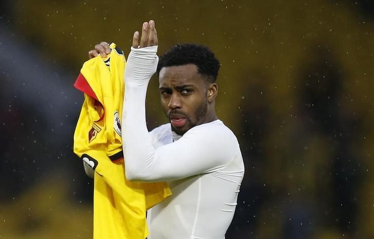 Britain Football Soccer - Watford v Tottenham Hotspur - Premier League - Vicarage Road - 16/17 - 1/1/17 Tottenham's Danny Rose applauds fans after the game  Action Images via Reuters / Paul Childs/Files