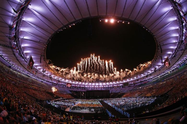 2016 Rio Paralympics - Closing Ceremony - Maracana - Rio de Janeiro, Brazil - 18/09/2016. General view of the closing ceremonyREUTERS/Jason O'Brien