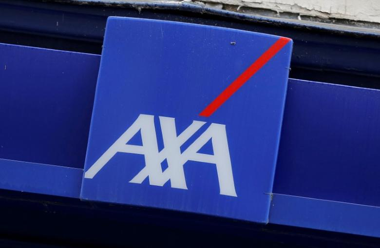 FILE PHOTO: Logo of France's biggest insurer AXA is seen in Paris, France, August 4, 2016. REUTERS/Jacky Naegelen/File Photo