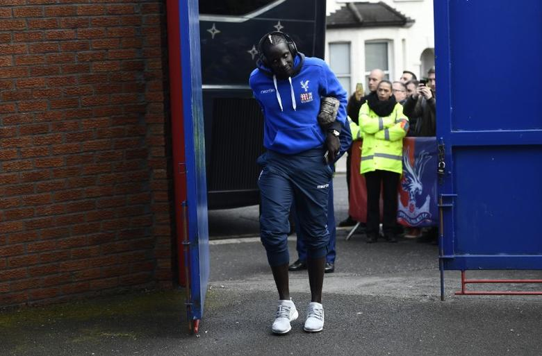 Britain Soccer Football - Crystal Palace v Tottenham Hotspur - Premier League - Selhurst Park - 26/4/17 Crystal Palace's Mamadou Sakho arrives for the match Reuters / Dylan Martinez Livepic