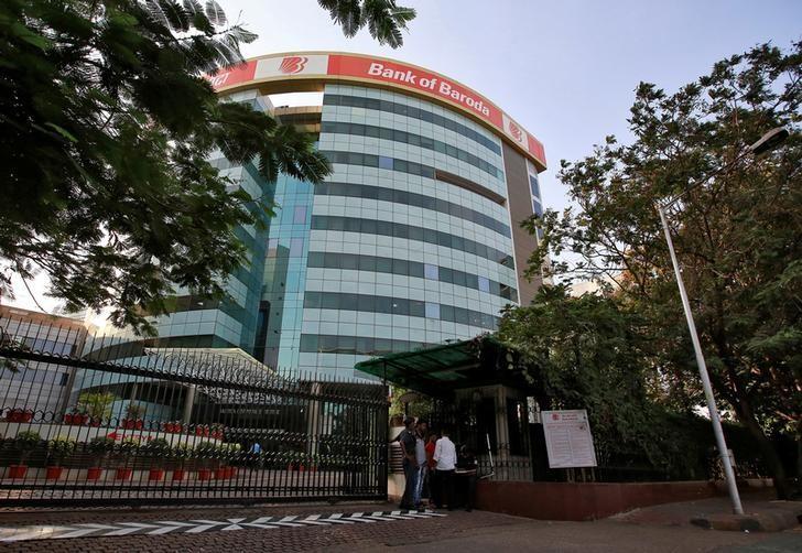 The Bank of Baroda headquarters is pictured in Mumbai, April 27, 2016. REUTERS/Danish Siddiqui/Files