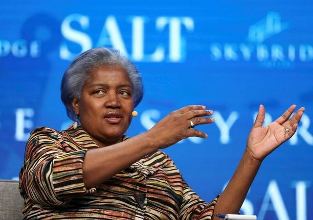 Donna Brazile, former chair of the Democratic National Committee and political strategist, speaks during the SALT conference in Las Vegas, Nevada, U.S. May 18, 2017.  REUTERS/Richard Brian