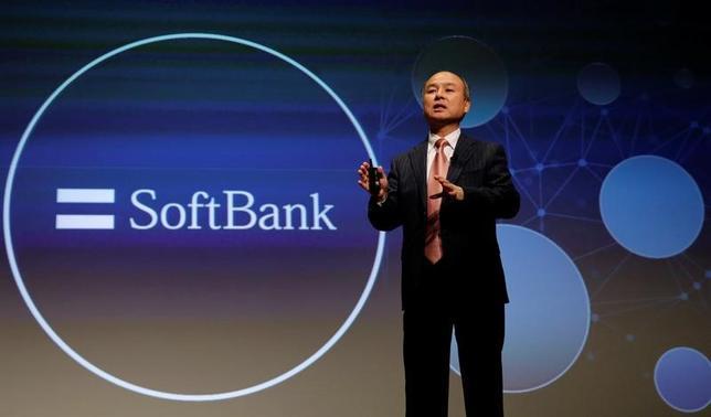 5月21日、ソフトバンクグループは20日、世界規模でテクノロジー分野に投資する「ソフトバンク・ビジョン・ファンド」の初回出資が完了したと発表した。写真は孫正義社長。都内で2月撮影(2017年 ロイター/Toru Hanai)